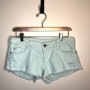 True Religion Light Blue shorts 26